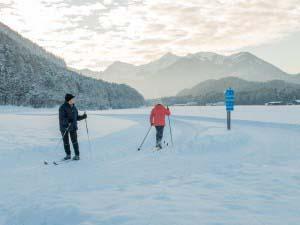 Skilanglauf im Unterwössner Tal