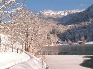 Winter am Wössner See